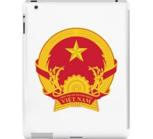 Emblem of Vietnam iPad Case/Skin