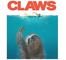 Sloth Claws Parody Photographic Print