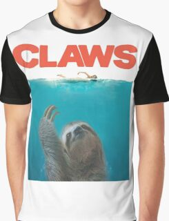 Sloth Claws Parody Graphic T-Shirt