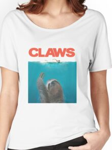 Sloth Claws Parody Women's Relaxed Fit T-Shirt