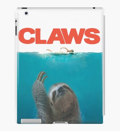 Sloth Claws Parody iPad Case/Skin
