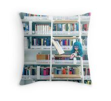 Take me up and away dear mr book Throw Pillow
