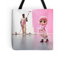 Paint the town pink Tote Bag