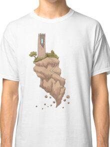 Floating Tower Island Begin Again Classic T-Shirt