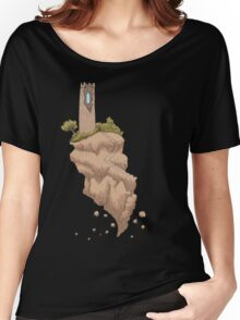 Floating Tower Island Begin Again Women's Relaxed Fit T-Shirt