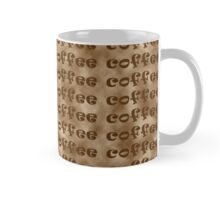 Coffee words pattern Mug