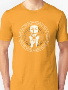 Anonymous seal  Unisex T-Shirt