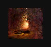 Fantasy Forest Sunset Unisex T-Shirt