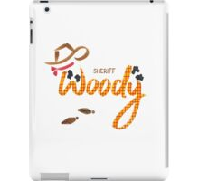 Sheriff Woody iPad Case/Skin