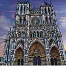 France. Amiens. Amiens Cathedral. by vadim19
