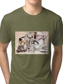 MARTIAN FLOWER Tri-blend T-Shirt