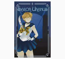 Art Deco style Sailor Uranus One Piece - Short Sleeve