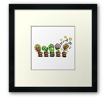 Groove vs Zombies Framed Print