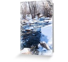 Bear Creek Lake State Park, Morrison Colorado Greeting Card