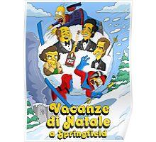 Vacanze di Natale a Springfield  Poster