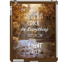 Forget Your Perfect Offering iPad Case/Skin