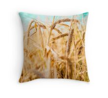 Wheat ears Throw Pillow