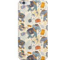 Colorful Tribal Paisley Elephant Pattern iPhone Case/Skin