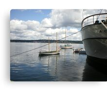 Halifax Port, Nova Scotia, Canada Canvas Print