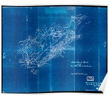 Civil War Maps 0278 Christ Church Parish So Ca Charleston District Inverted Poster