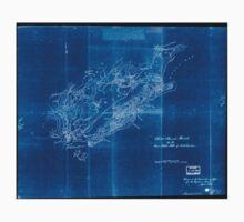 Civil War Maps 0278 Christ Church Parish So Ca Charleston District Inverted Baby Tee