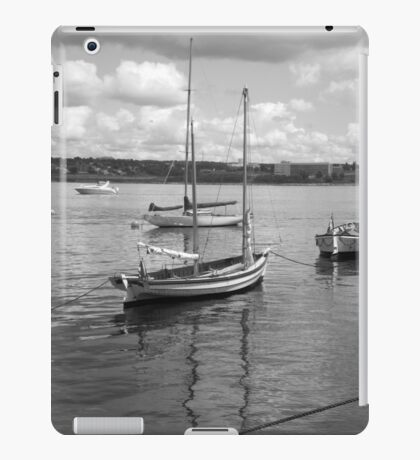 Halifax Port, Nova Scotia, Canada iPad Case/Skin