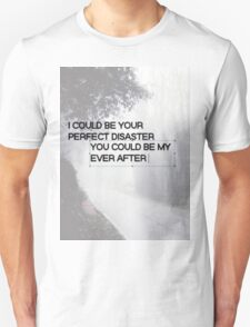 Marianas Trench Ever After Text Unisex T-Shirt