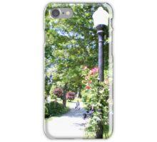 Halifax Public Gardens, Nova Scotia, Canada iPhone Case/Skin