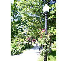 Halifax Public Gardens, Nova Scotia, Canada Photographic Print