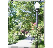 Halifax Public Gardens, Nova Scotia, Canada iPad Case/Skin
