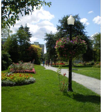 Halifax Public Gardens, Nova Scotia, Canada Sticker
