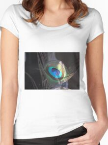 Light In The Darkness Women's Fitted Scoop T-Shirt
