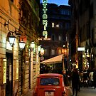 Renault 4, Via Sant'Andrea delle Fratte, Rome by Nicholas Coates