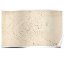 Civil War Maps 0491 Hill no 3 opposite Fort Mahan Washington DC Poster