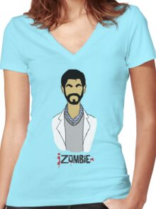 Ravi iZombie Women's Fitted V-Neck T-Shirt