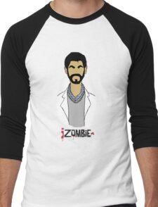 Ravi iZombie Men's Baseball ¾ T-Shirt