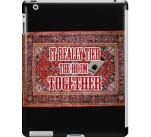 Big lebowski Carpet iPad Case/Skin