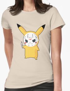 Pikachu Womens Fitted T-Shirt
