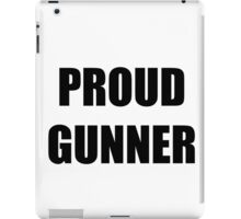 Proud Gunner Logo iPad Case/Skin