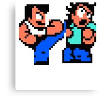 River City Ransom Barf Canvas Print