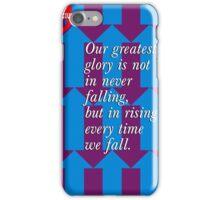 Confucius Inspirational Quote iPhone Case/Skin