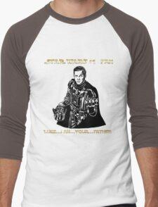 Star Trek Wars sci-fi homage  Men's Baseball ¾ T-Shirt