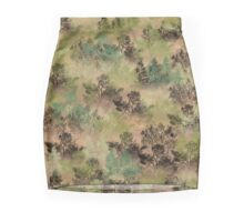Muted Pacific or Red Silver Fir with Shrubs  Mini Skirt