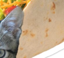 Cat in a Taco 2.0 Sticker