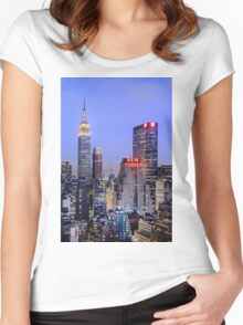 Made In New York Women's Fitted Scoop T-Shirt