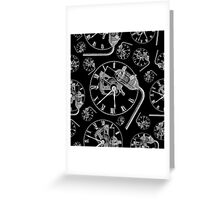 What time is it? Greeting Card
