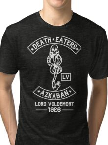 death eaters Azkaban white Tri-blend T-Shirt
