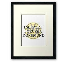 Borussia Dortmund Support Framed Print