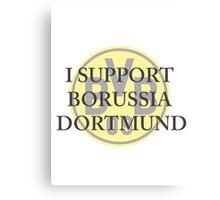 Borussia Dortmund Support Canvas Print