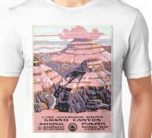 Vintage Grand Canyon National Park Arizona WPA Unisex T-Shirt